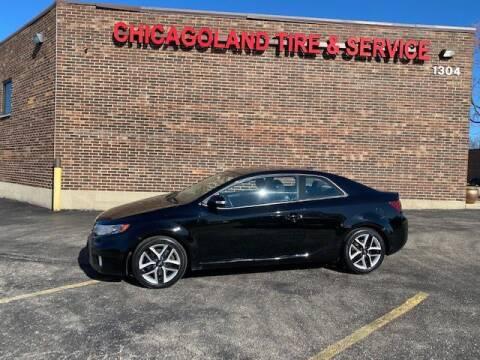 2010 Kia Forte Koup for sale at CLT Auto Sales  & Service Center in Addison IL