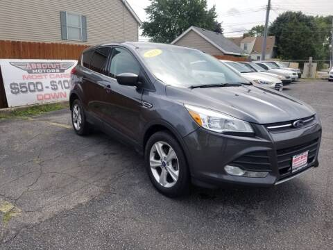 2015 Ford Escape for sale at Absolute Motors in Hammond IN