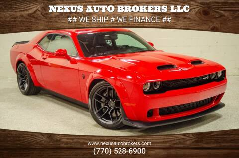 2019 Dodge Challenger for sale at Nexus Auto Brokers LLC in Marietta GA