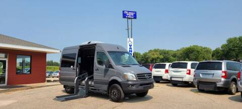 2017 Freightliner Sprinter Passenger for sale at Summit Auto & Cycle in Zumbrota MN