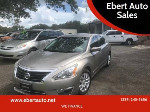 2013 Nissan Altima for sale at Ebert Auto Sales in Valdosta GA