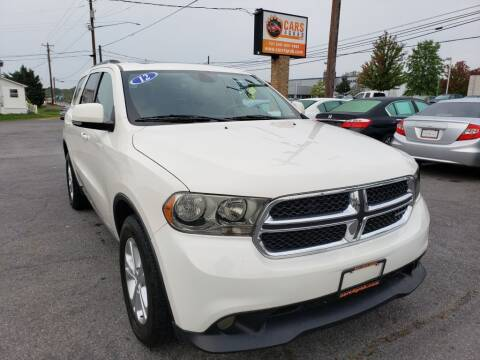 2012 Dodge Durango for sale at Cars 4 Grab in Winchester VA