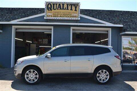 2013 Chevrolet Traverse for sale at Quality Pre-Owned Automotive in Cuba MO