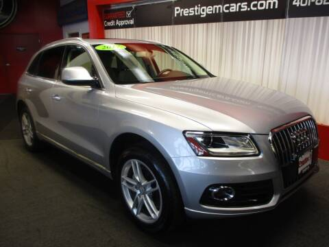 2017 Audi Q5 for sale at Prestige Motorcars in Warwick RI