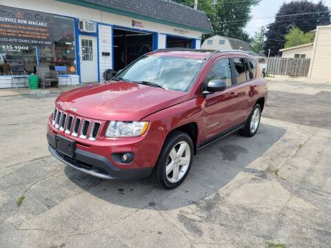 2012 Jeep Compass for sale at MOE MOTORS LLC in South Milwaukee WI