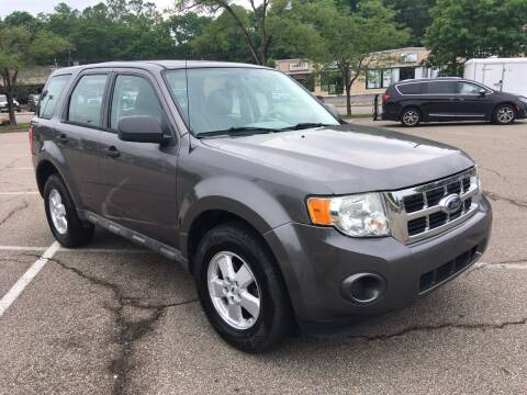 2009 Ford Escape for sale at Borderline Auto Sales in Loveland OH