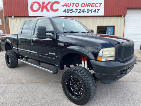 2004 Ford F-250 Super Duty for sale at OKC Auto Direct in Oklahoma City OK