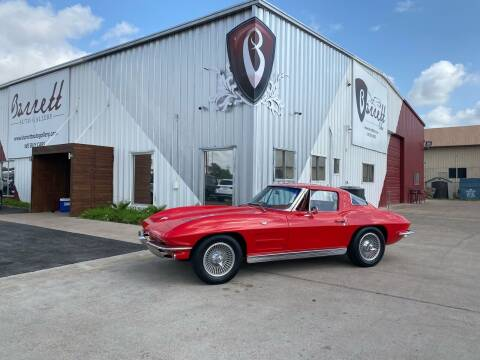 1963 Chevrolet Corvette Stingray Split Window for sale at Barrett Auto Gallery in San Juan TX