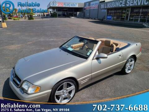 1999 Mercedes-Benz SL-Class for sale at Reliable Auto Sales in Las Vegas NV