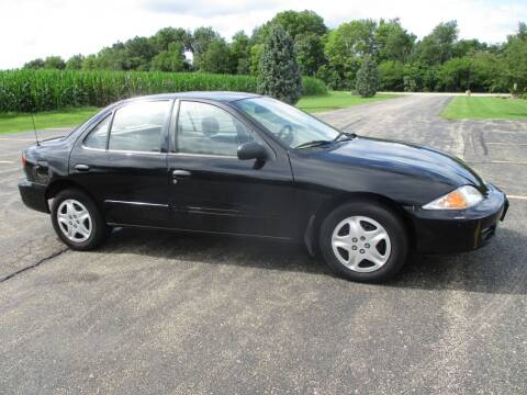 2002 Chevrolet Cavalier for sale at Crossroads Used Cars Inc. in Tremont IL
