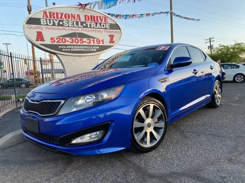 2012 Kia Optima for sale in Tucson, AZ
