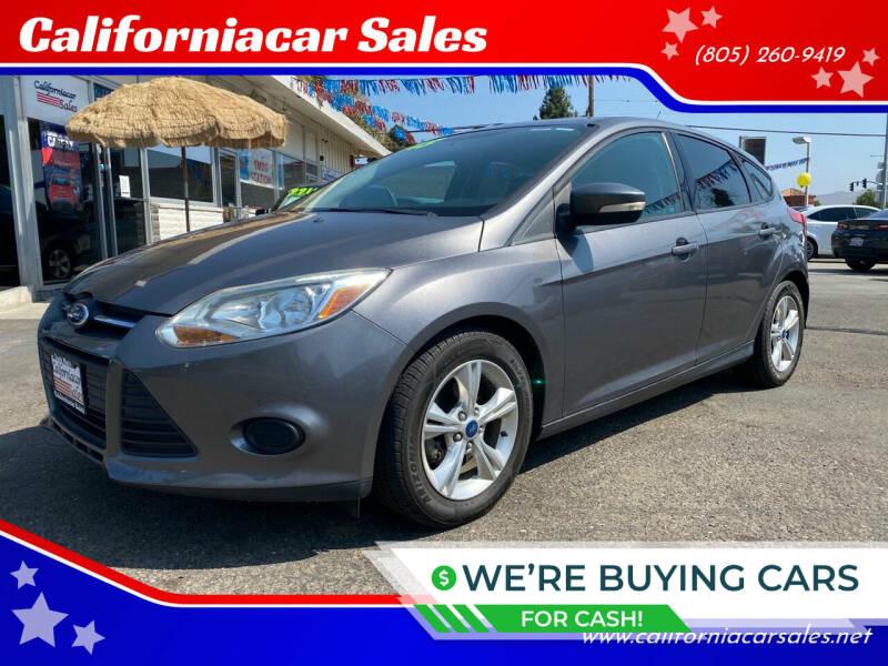 2013 Ford Focus for sale at Californiacar Sales in Santa Maria CA