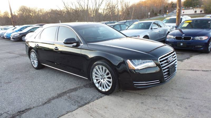 2014 Audi A8 L for sale at Unlimited Auto Sales in Upper Marlboro MD