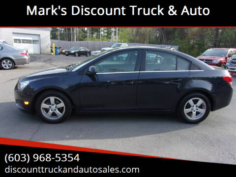 2014 Chevrolet Cruze for sale at Mark's Discount Truck & Auto in Londonderry NH