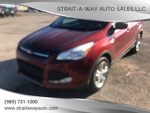 2015 Ford Escape for sale at Strait-A-Way Auto Sales LLC in Gaylord MI