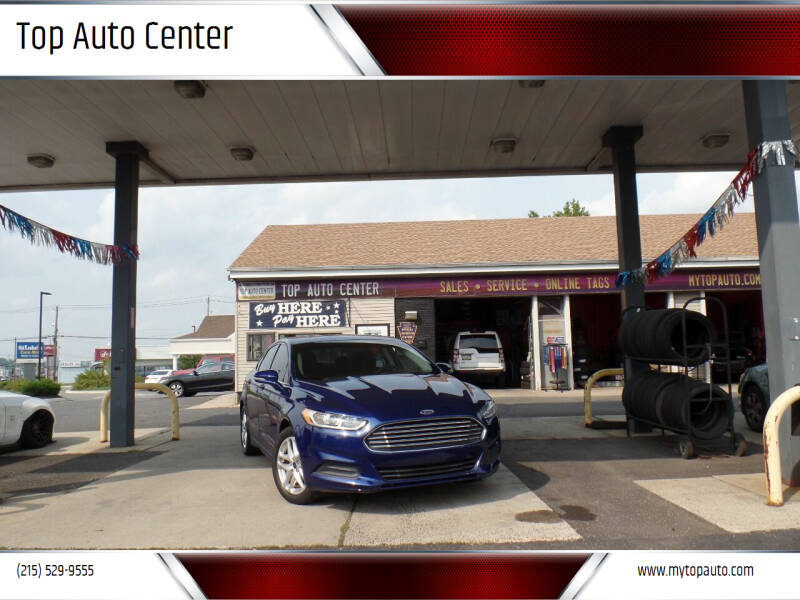 2014 Ford Fusion for sale at Top Auto Center in Quakertown PA