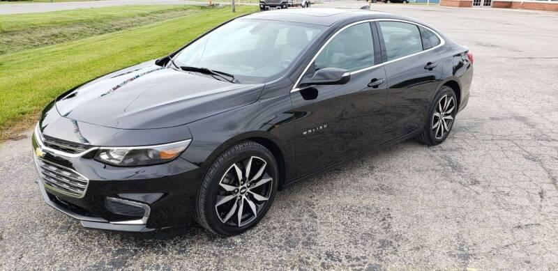 2017 Chevrolet Malibu for sale at Adams Enterprises in Knightstown IN
