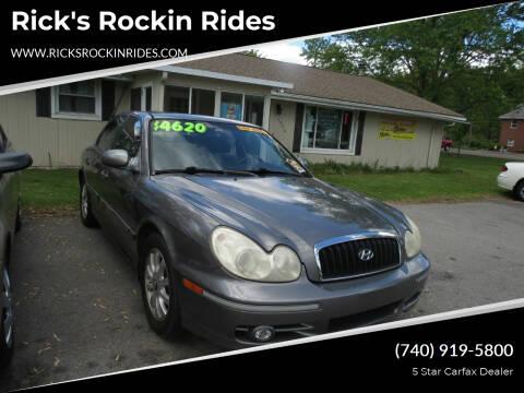 2004 Hyundai Sonata for sale at Rick's Rockin Rides in Reynoldsburg OH