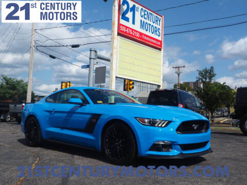 2017 Ford Mustang for sale at 21st Century Motors in Fall River MA