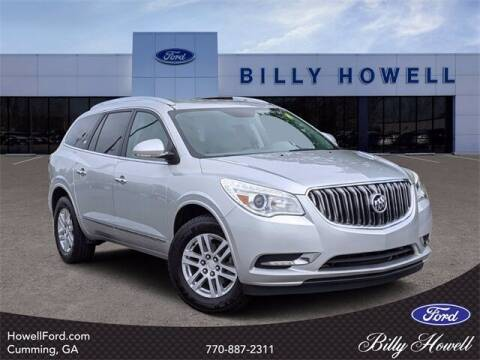 2015 Buick Enclave for sale at BILLY HOWELL FORD LINCOLN in Cumming GA