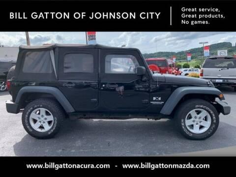 2009 Jeep Wrangler Unlimited for sale at Bill Gatton Used Cars - BILL GATTON ACURA MAZDA in Johnson City TN