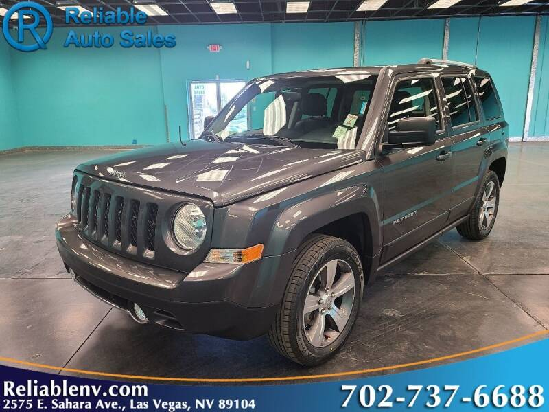 2017 Jeep Patriot for sale at Reliable Auto Sales in Las Vegas NV