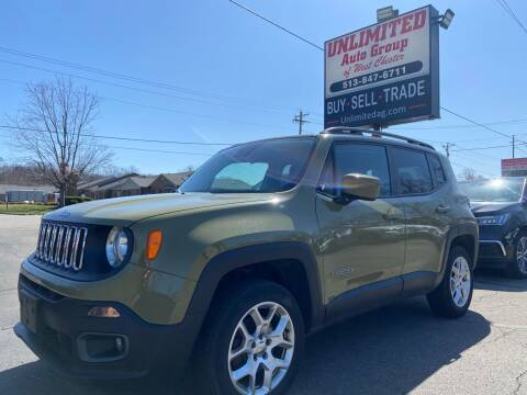 2015 Jeep Renegade for sale at Unlimited Auto Group in West Chester OH