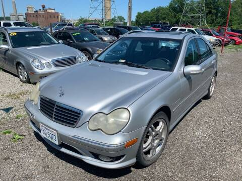 2003 Mercedes-Benz C-Class for sale at Trocci's Auto Sales in West Pittsburg PA