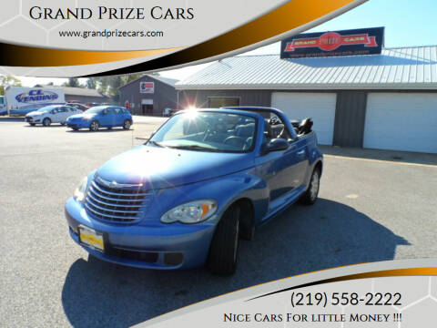 2006 Chrysler PT Cruiser for sale at Grand Prize Cars in Cedar Lake IN