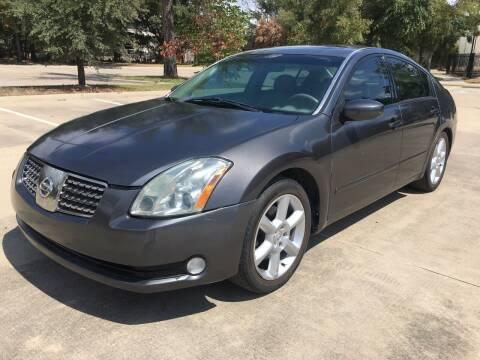 2006 Nissan Maxima for sale at Safe Trip Auto Sales in Dallas TX