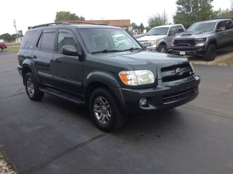 2007 Toyota Sequoia for sale at Bruns & Sons Auto in Plover WI
