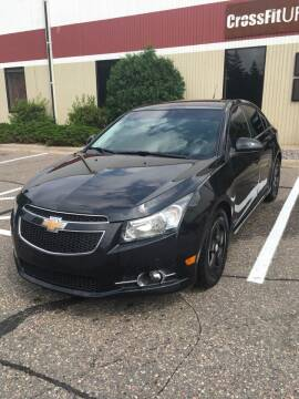 2012 Chevrolet Cruze for sale at Specialty Auto Wholesalers Inc in Eden Prairie MN