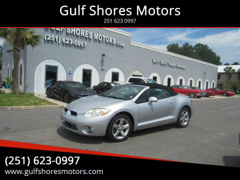 2008 Mitsubishi Eclipse Spyder for sale at Gulf Shores Motors in Gulf Shores AL