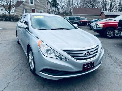 2014 Hyundai Sonata for sale at SHEFFIELD MOTORS INC in Kenosha WI