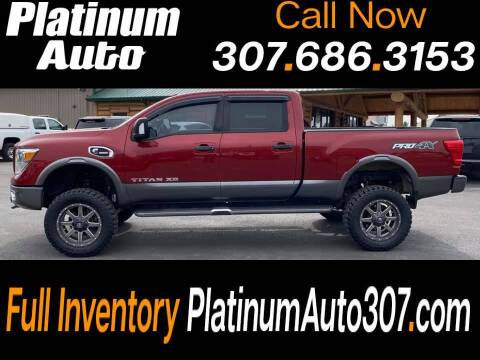 2016 Nissan Titan XD for sale at Platinum Auto in Gillette WY