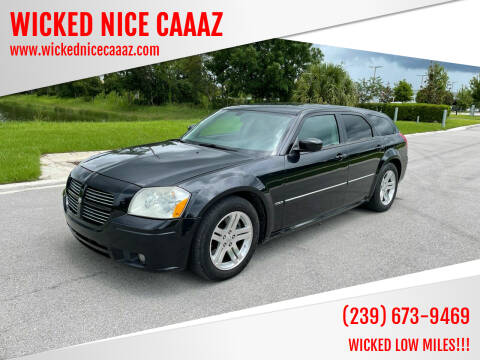 2006 Dodge Magnum for sale at WICKED NICE CAAAZ in Cape Coral FL