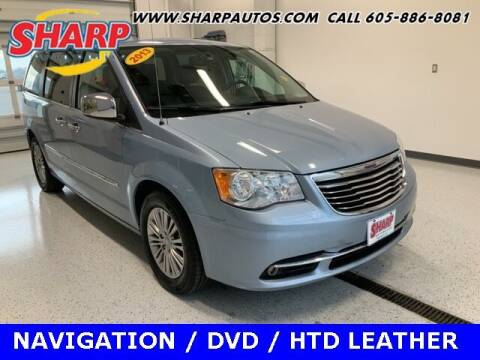 2013 Chrysler Town and Country for sale at Sharp Automotive in Watertown SD
