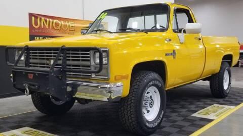 1984 Chevrolet C/K 20 Series for sale at UNIQUE SPECIALTY & CLASSICS in Mankato MN