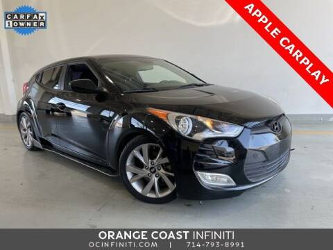 2017 Hyundai Veloster for sale at ORANGE COAST CARS in Westminster CA