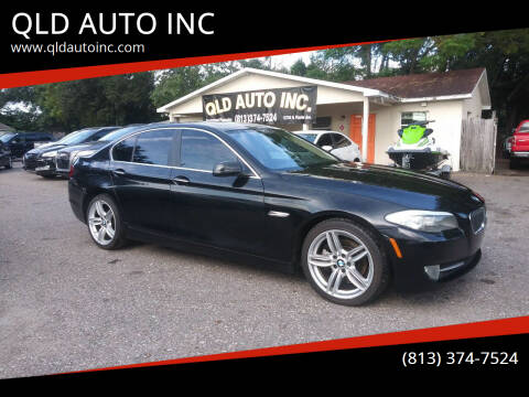 2013 BMW 5 Series for sale at QLD AUTO INC in Tampa FL