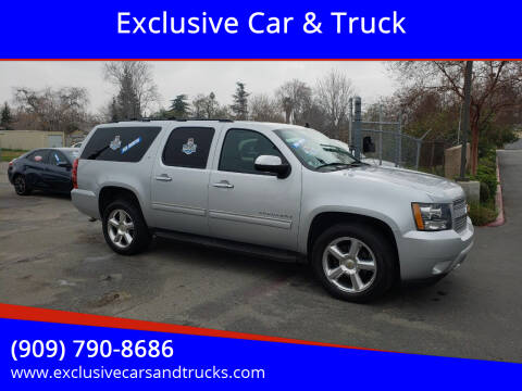 2012 Chevrolet Suburban for sale at Exclusive Car & Truck in Yucaipa CA