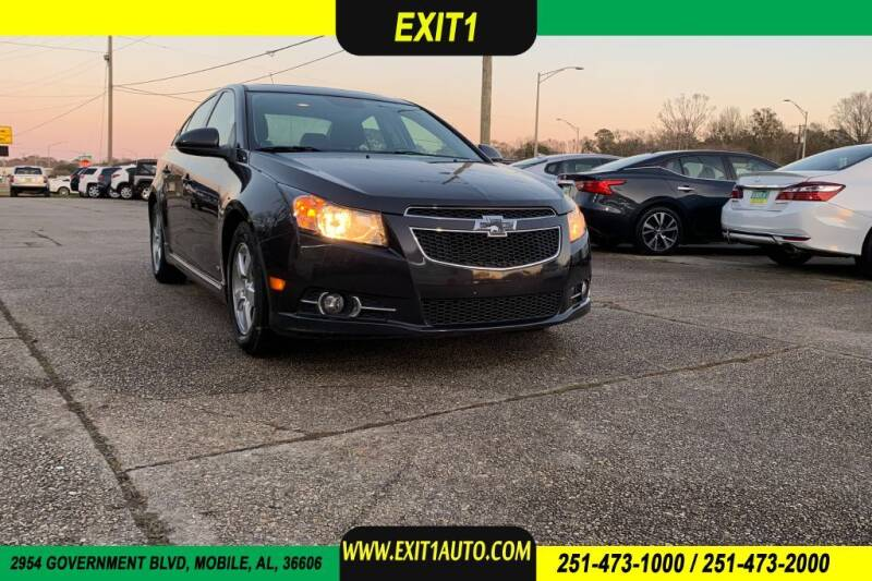 2014 Chevrolet Cruze for sale at Exit 1 Auto in Mobile AL