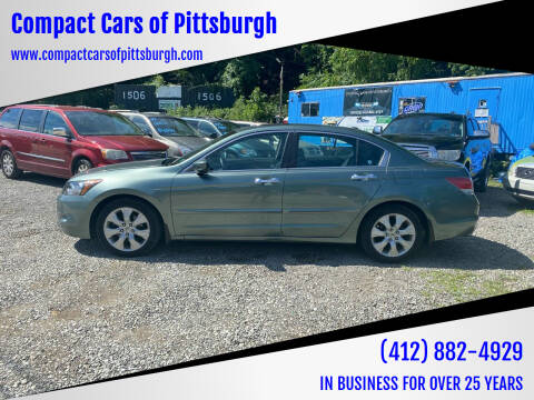 2010 Honda Accord for sale at Compact Cars of Pittsburgh in Pittsburgh PA