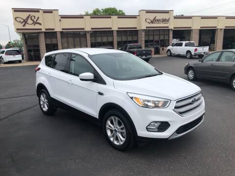 2019 Ford Escape for sale at ASSOCIATED SALES & LEASING in Marshfield WI