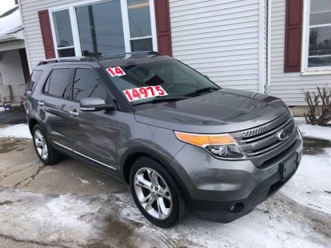 2014 Ford Explorer for sale at Kramer Motor Co INC in Shelbyville IN
