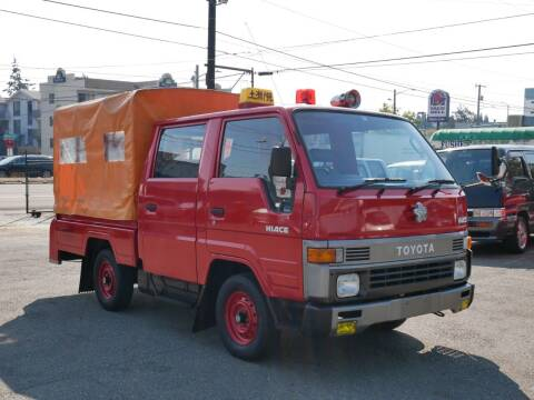 1993 Toyota Hiace MT5 for sale at JDM Car & Motorcycle LLC in Seattle WA