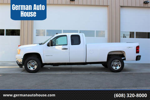 2013 GMC Sierra 2500HD for sale at German Auto House in Fitchburg WI