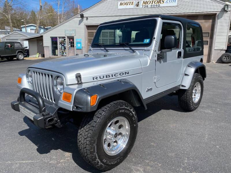 2003 Jeep Wrangler for sale at Route 4 Motors INC in Epsom NH