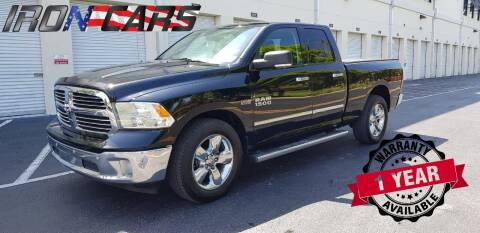 2014 RAM Ram Pickup 1500 for sale at IRON CARS in Hollywood FL