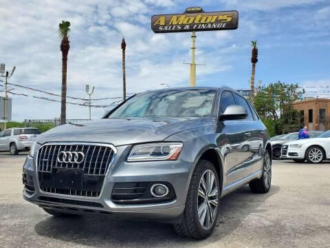 2016 Audi Q5 for sale at A MOTORS SALES AND FINANCE - 10110 West Loop 1604 N in San Antonio TX
